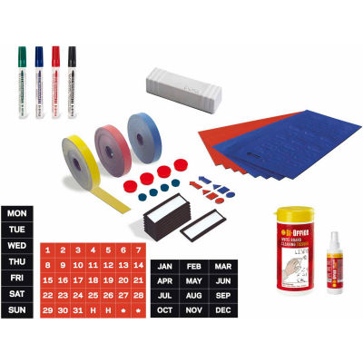 MasterVision Professional Dry-Erase Board Magnetic Accessory Kit