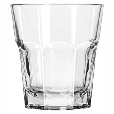 Libbey Glass 15233 - Rock Glass Double 13 Oz., Gibraltar, 36 Pack