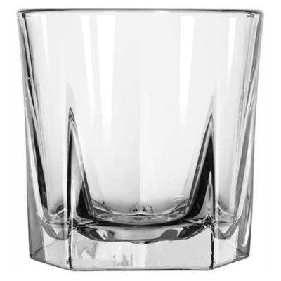 Libbey Glass 15481 - Rock Glass 9 Oz., DuraTuff Inverness, 36 Pack