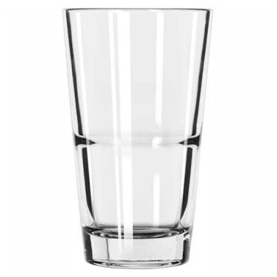 Libbey Glass 15789 - Stacking Mixing Glass 14 Oz., Glassware, Restaurant Basics, 24 Pack