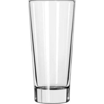 Libbey Glass 15814 - Glass Elan Beverage DuraTuff 14 Oz., 12 Pack