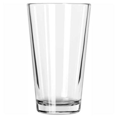 Libbey Glass 1637HT - Mixing Glass 20 Oz., Clear, 24 Pack