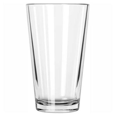Libbey Glass 1639HT - Mixing Glass 16 Oz., Heat Treated Clear, 24 Pack