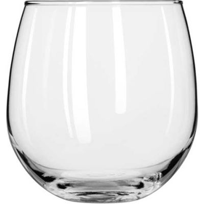 Libbey Glass 222 - Glass Vina Stemless Red Wine 16.75 Oz., 12 Pack