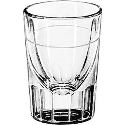 Libbey Glass 5127/S0711 - Whiskey Glass Lined 1.5 Oz., 48 Pack