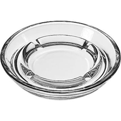 "Libbey Glass 5164 - Glass Ashtray 5"" Round, 36 Pack"