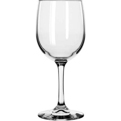 Libbey Glass 8564SR - Wine Glass Bristol Valley 8.5 Oz., Clear White, 24 Pack