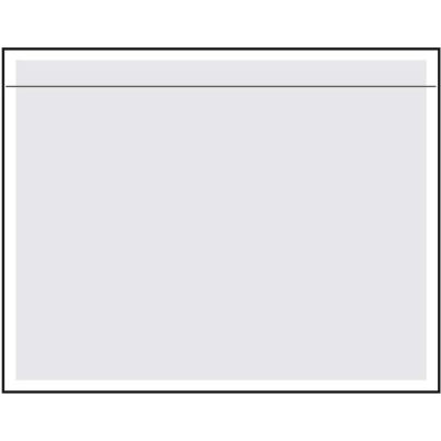 """Packing List Envelopes - 7"""" x 5-1/2"""" Clear Face - 1000/Case"""