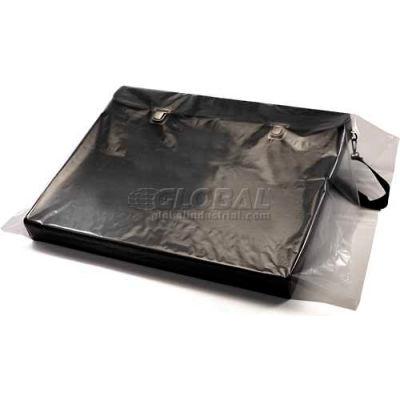 """Layflat Bags on a Roll, 38""""W x 72""""L 6 Mil Clear, 45 per Roll"""
