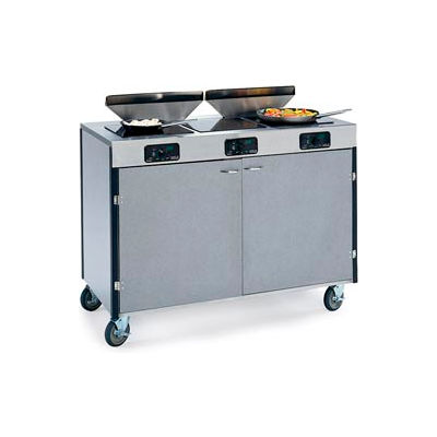Induction Creation Express w/ Filtration - 3 Cooktops - Maple