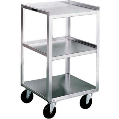 Lakeside® 359 Stainless Steel Mobile Equipment Stand, 3 Shelves, 300 lbs. Capacity