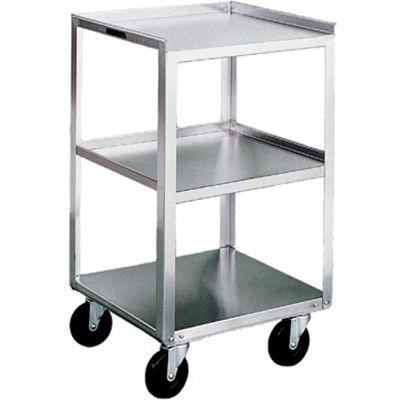Lakeside® 469 Stainless Steel Mobile Equipment Stand, 3 Shelves, 500 lb. Capacity