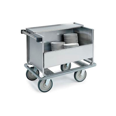 "Lakeside® 705 Closed Store N Carry Dish Truck - 66 9"" Plates, 100 7"" Plates"