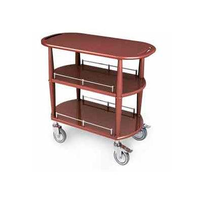 "Geneva Lakeside Serving Cart 35-1/2""x 17-3/4"" x 32-1/4"" w/ 3 Shelves, 70531"