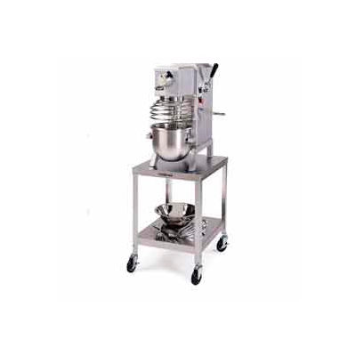 """Lakeside® 717 Stainless Steel Mobile Machine Stand 500 Lb. Cap. - 21-3/16""""H"""