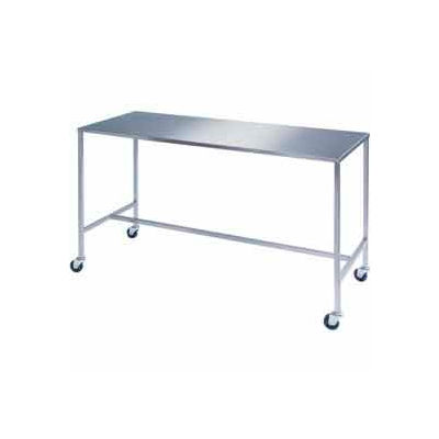 """Lakeside® 8386 Stainless Steel H-Brace Instrument Table - 20""""L x 16""""W x 34""""H"""