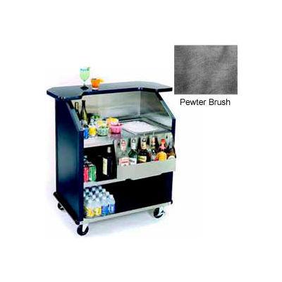 """Geneva Lakeside 43"""" Portable Beverage Bar, SS Interior, 884-PetwerBrush"""