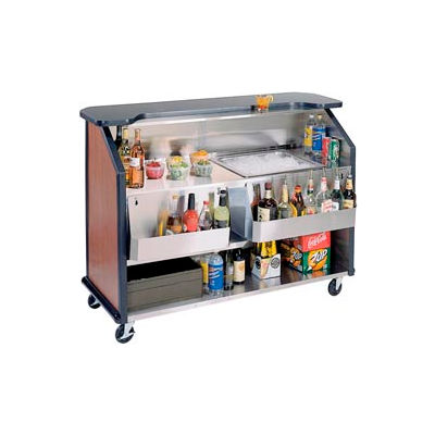 Party Pleaser Bar - 1 Ice Bin - Red
