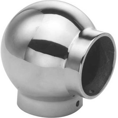 """Lavi Industries, Ball Elbow, for 2"""" Tubing, Polished Stainless Steel"""