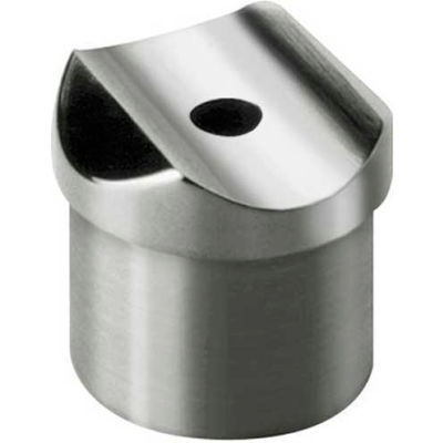 """Lavi Industries, Perpendicular Collar, for 1.5"""" Tubing, Polished Stainless Steel"""
