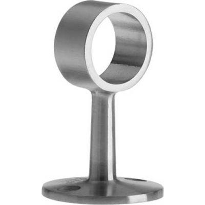 """Lavi Industries, Flush Center Post, for 1"""" Tubing, Satin Stainless Steel"""