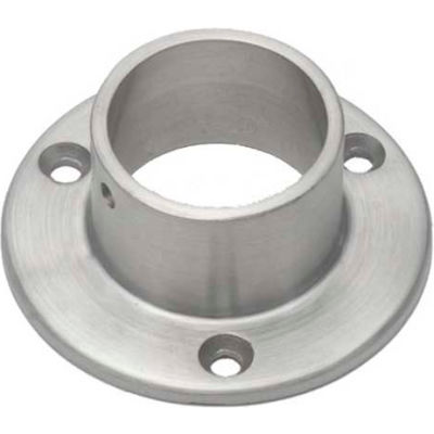 """Lavi Industries, Flange, Wall, for 1.5"""" Tubing, Satin Stainless Steel"""