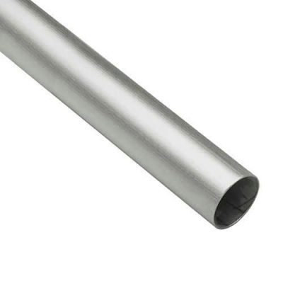 "Lavi Industries, Tube, 1.5"" x .050"" x 8', Satin Stainless Steel"