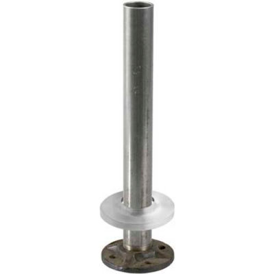 """Lavi Industries, Steel Flange and Steel Insert, for 1.5"""" Tubing, w/Satin Stainless Steel Canopy"""