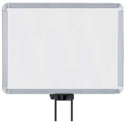 "Lavi Industries, Horizontal Fixed Sign Frame, 50-1131SH-S/SA, 11"" x 14"", Unslotted, Satin"