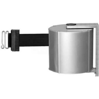 Lavi Industries JetTrac Wall-mount, 65'L Black/S Retractable Belt, S-Hook