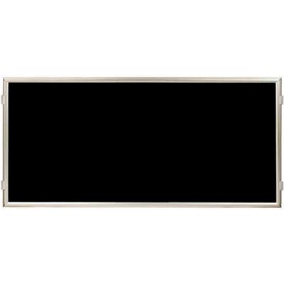 """Lavi Industries, Hinged Frame Sign Panel/Barrier, 50-HFP1002/SA/BK, 60"""" x 30"""", Matte Black"""