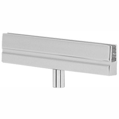 Tensabarrier Sign Bracket Frame, Polished Chrome