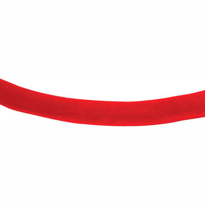 Tensator Velour Rope Red 1' No Ends