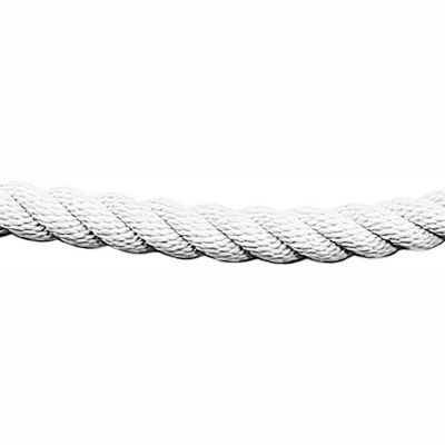 Tensator Twisted Rope White 1' No Ends
