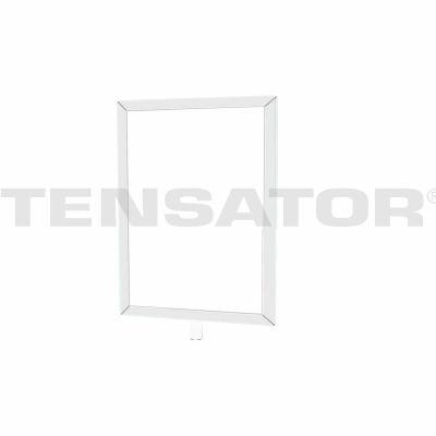 "Tensator Sign Frame Post Rope 7X11"" Polished Chrome"