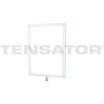"Tensator Sign Frame Post Rope 7X11"" Satin Chrome"