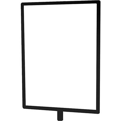 "Tensator Sign Frame Post Rope 7X11"" Satin Black"
