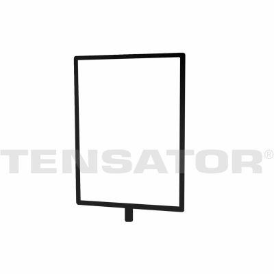 Tensabarrier Sign Frame Post Rope, 8.5x11, Balk
