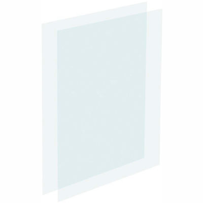 """Tensator Acrylic Protective Clear Inserts, 7X11"""""""