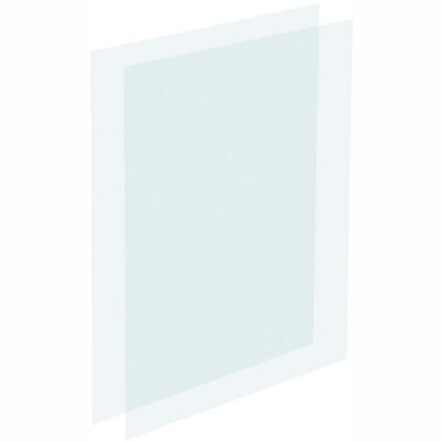 """Tensator Clear Acrylic Protective Inserts, 14X22"""""""