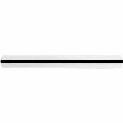 Tensabarrier Railing Tube, 12'L, Polished Chrome