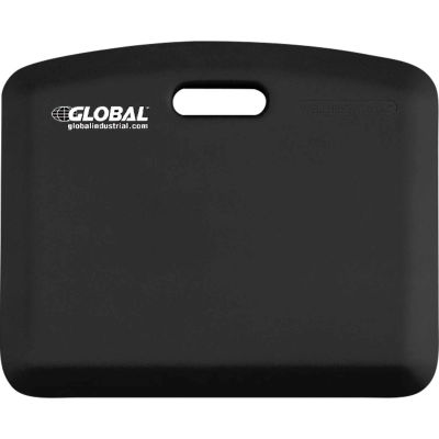 "Global Industrial™ MobilePro Anti-Fatigue Mat 3/4"" Thick 2' x 1.5' Black"