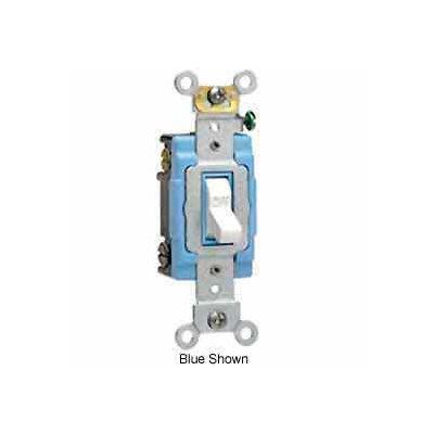 Leviton 1202-2i 15a, 120/277v, Double-Pole Ac Quiet Switch, Ivory - Min Qty 15