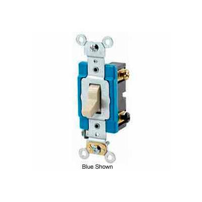 Leviton 1203-2w 15a, 120/277v, 3-Way Ac Quiet Switch, Back Wired, White - Min Qty 25
