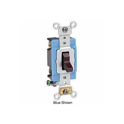 Leviton 1204-2gy 15 Amp, 120/277 V, 4-Way Ac Quiet Switch, Self Grounding, Gray - Min Qty 7