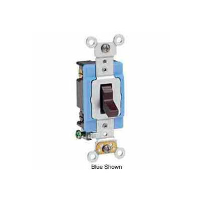 Leviton 1204-2l 4-Way Ac Quiet Switch, Self Grounding, Brown - Min Qty 6