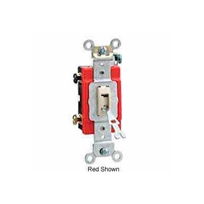 Leviton 1223-2gl 20a, 120/277v, Locking 3-Way Ac Quiet Switch, Gray - Min Qty 10