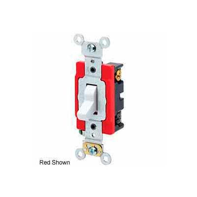 Leviton 1223-2i 3-Way Ac Quiet Switch, 20 Amp 120/277 V, Ivory - Min Qty 24