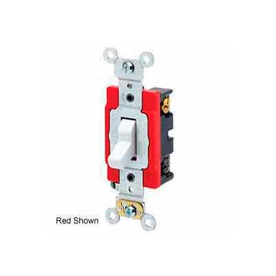 Leviton 1224-2e 20a, 120/277v, 4-Way Ac Quiet Switch, Extra Black - Min Qty 6