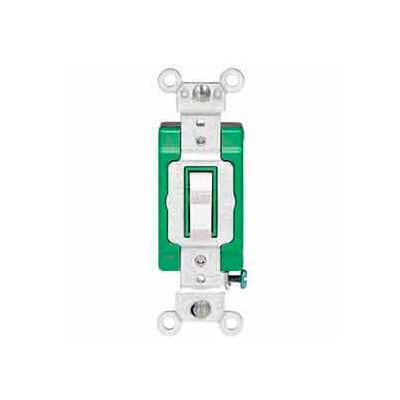 Leviton 3031-2 30a, 120/277v, Single-Pole Ac Quiet Switch, Brown - Min Qty 10